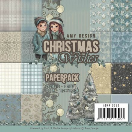 ADPP10023 ~ Paperpack~ Christmas Wishes  ~ Amy Design